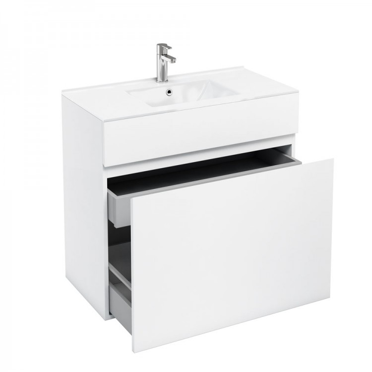 650mm vanity unit with ceramic basin 24 inch tool box